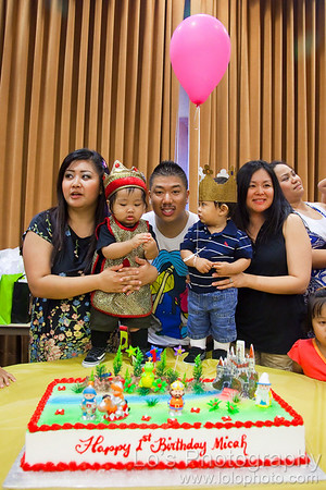 Micah's 1st Birthday