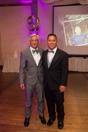 Valerio's 80th and Primo's 50th Birthday