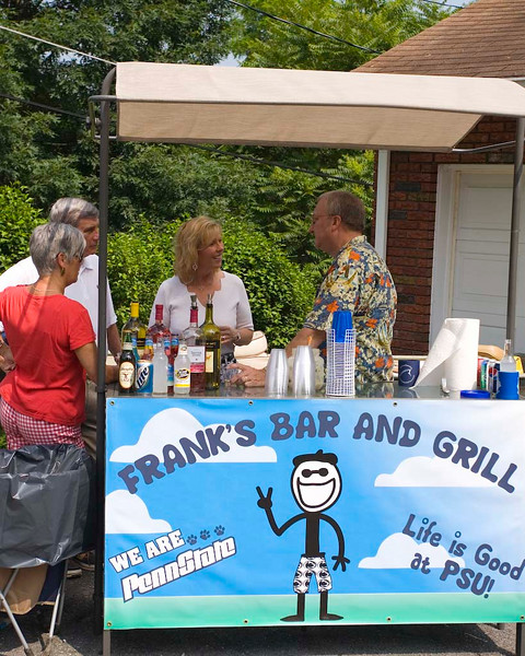 Frank's Bar and Grill at Marylee's Birthday Party