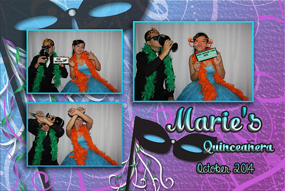 Marie's Birthday Photobooth