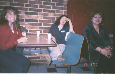 2000-2-26 29 Cathy Kris Carol.My Party