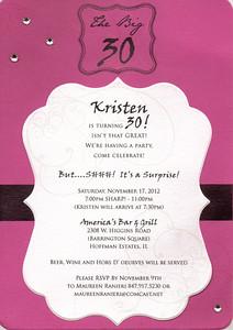 Kristen's 30!
