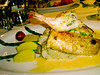 <h2>Yummy Dinner</h2>Louise very much liked her dinner at Los Brisas.