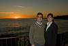 <h2>Ian, Jill and the Sunset</h2>We went down to Laguna for Louise's birthday.  We made sure to arrive in time to enjoy the sunset.  Ian and Jill surprised Louise by meeting us down there.