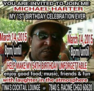 20150314 Michael Harter BIRTHDAY CELEBRATION