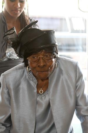 Mrs Bessie Martin 100  Birthday Party
