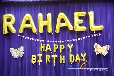 Rahael 1st Birthday Party