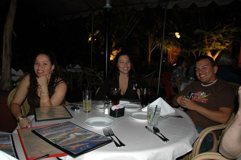 Lani, Pam and Robert.