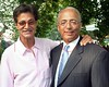 Arnaldo Segarra, William C. Thompson, Jr. at David Dinkins 80th Birthday Party at Gracie Mansion in New York City.  <center>New York, NY July 16, 2007 Photo by Steve Mack/S.D. Mack Pictures