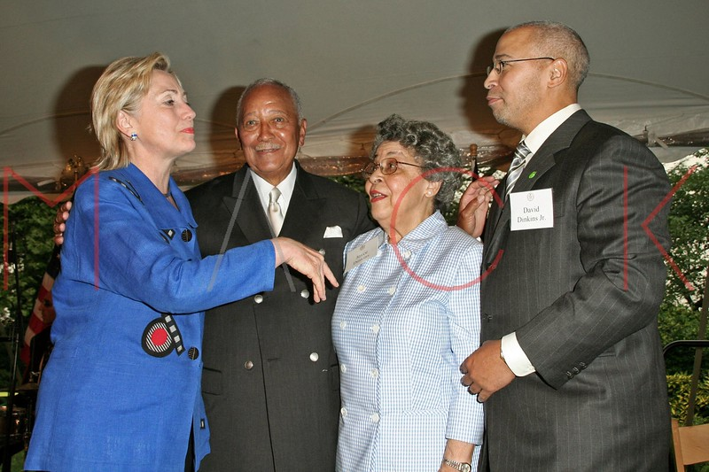 david dinkins 80th birthday party at gracie mansion in new york city