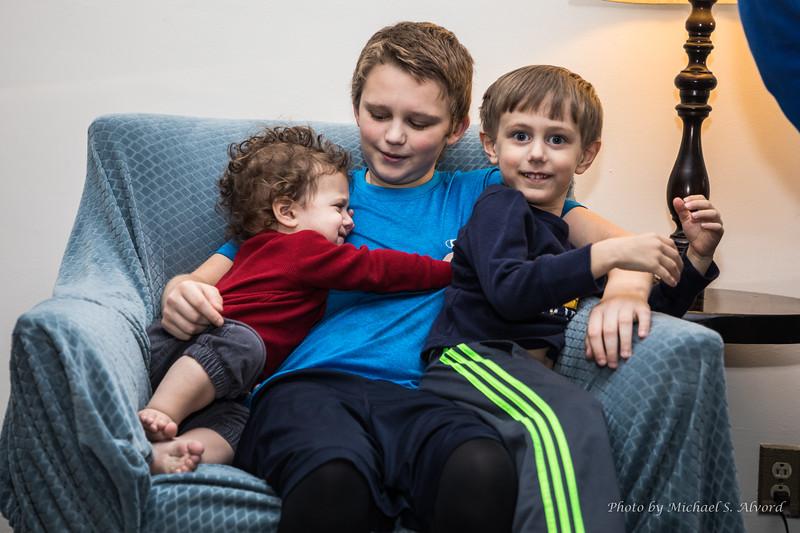 Zach, CJ and Ben.