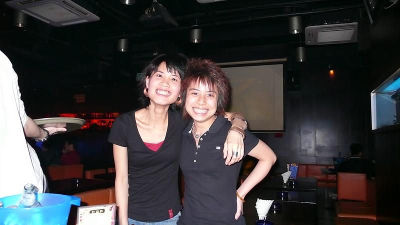 P1030161 <br /> Eva and Tracy