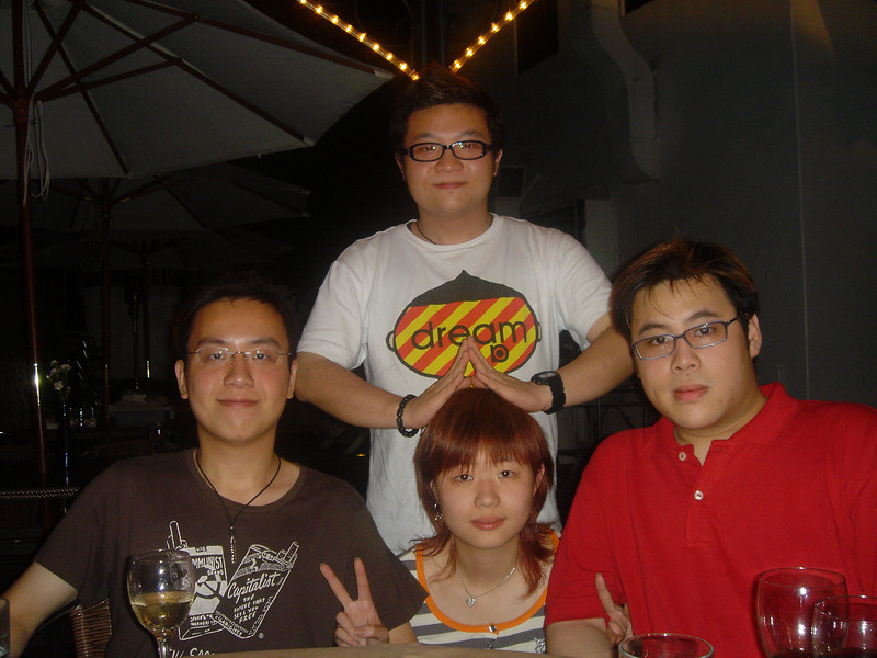 DSC05316 <br /> Hois, Ron, Hei and Fierre