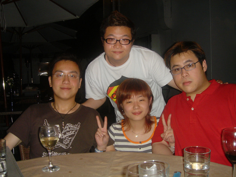 DSC05314 <br /> Hois, Ron, Hei and Fierre