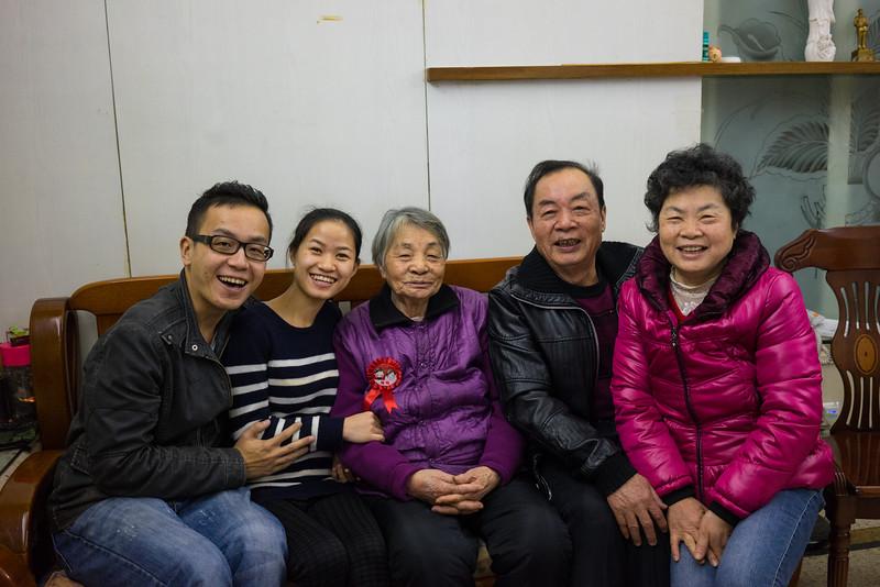 Hois, Aiko, Grandma, 大丈 and 大姑