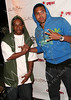 NEW YORK - MAY 13:  Comedian Lil' JJ and Chris Brown attend Chris Brown's 19th Birthday Bash presented by Carol's daughter on May 13, 2008 in New York City.  (Photo by Steve Mack/S.D. Mack Pictures) *** Local Caption *** Lil' JJ; Chris Brown