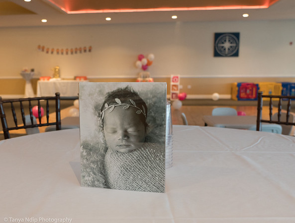 We asked Bianca if we could use her newborn photo is the session at her birthday.