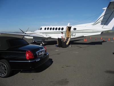 King Air back to SD. Thanks Jim's Air!
