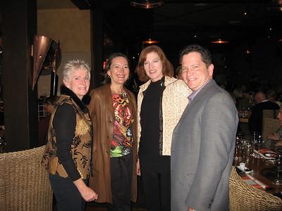Chic, Karen, Karen and Jim