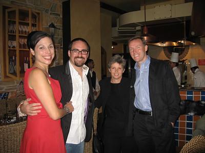 Kat, John, Leslie and Michael