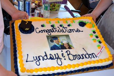 Brandon and Lyndsy Graduation 2012