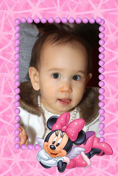 Baby Frame Minnie