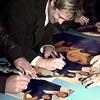 Brad Signing