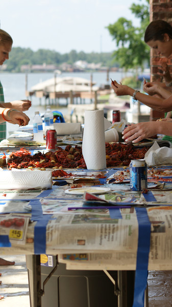 Broekstra's 2012 Lake House Crawfish Boil