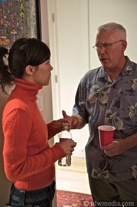 Bruce and Marens Housewarming 9-12-09