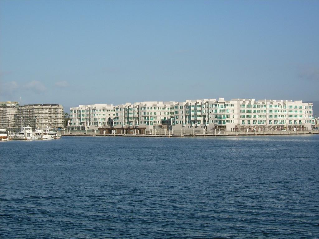 The Marina del Rey harbor