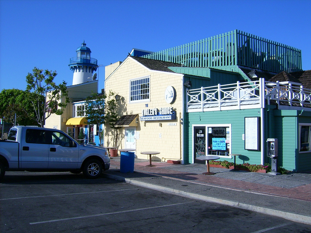 Fisherman's village in Marina Del Rey.  Our home port to start our Buccaneer Days Adventure