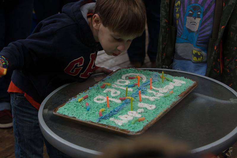 Caleb's Birthday Party