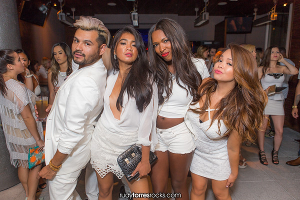 CaliforniaNightlife.com 5 yr Anniversary White Party at the Vibe W Hotel Rooftop, Hollywood 8.8.2015 @© Rudy Torres | RudyTorresRocks.com
