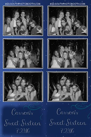Carsons Sweet 16