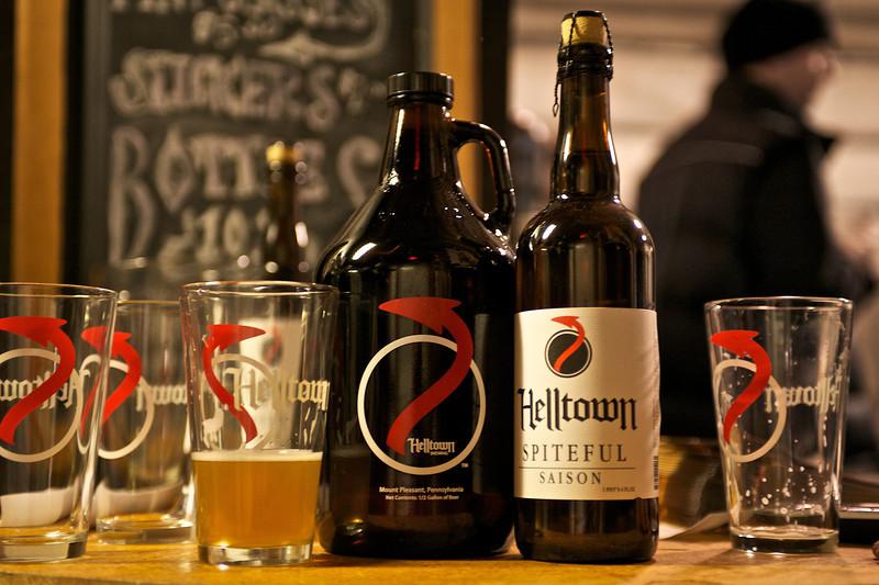 Chalkman Mid-winter   Helltown Brewing