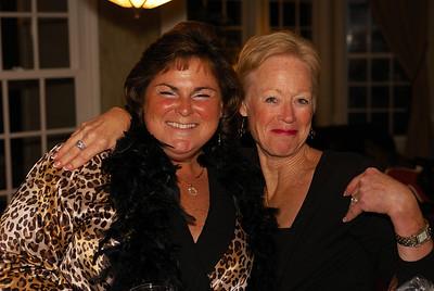 Terese and her neighbor Elizabeth...