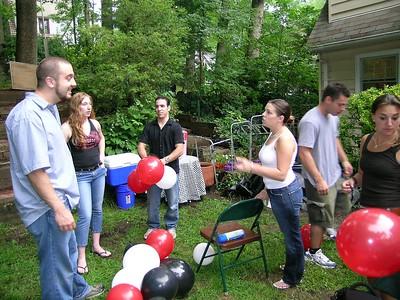 Chris's Graduation Party