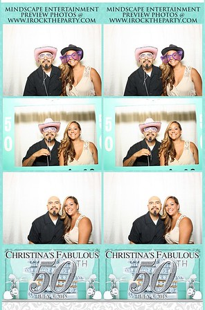Christina's Fabulous 50 Party - Photo Booth Pictures