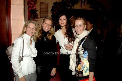 Kristen Thompson, Anna Evans, Jocelyn Javits and Kara Ross