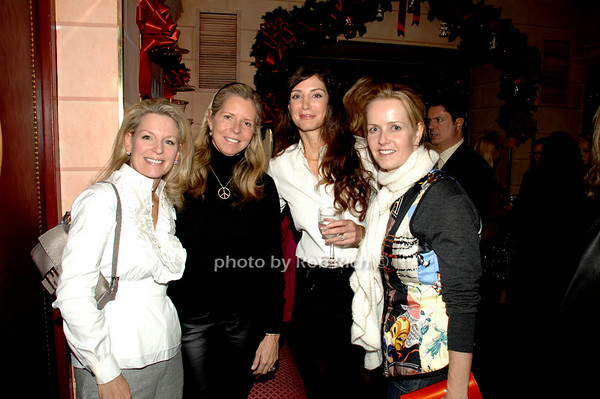 Kristen Thompson, Anna Evans, Jocelyn Javits and Kara Ross
