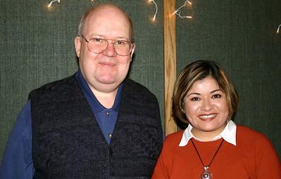 Bishop Slaugh and Vanessa Mansour