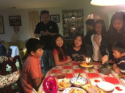 Christy's birthday 2017