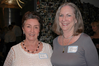 Penny Boone and Geri McDonough