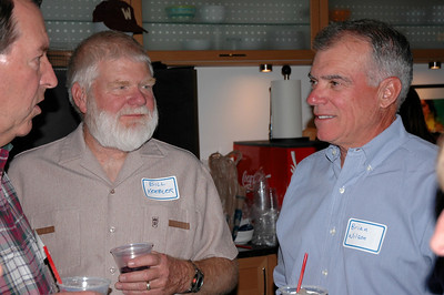 Jim Korinek, Bill Keebler and Brian Wilson