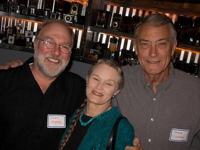 John Major and wife Sherri Harrison, and Steve Timarac