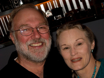 John Major and wife Sherri Harrison