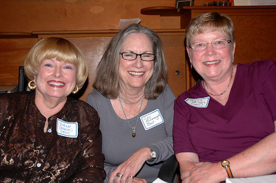 Diane Edens, Geri McDonough and Phyliss Hull