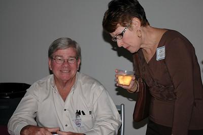 Gary Hegel and Gail Fisher