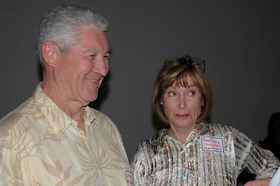 Barbara Thurston and husband