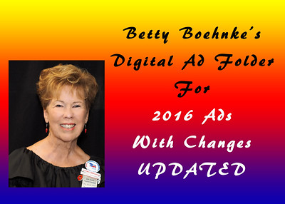 Member Ads from Betty Boehnke